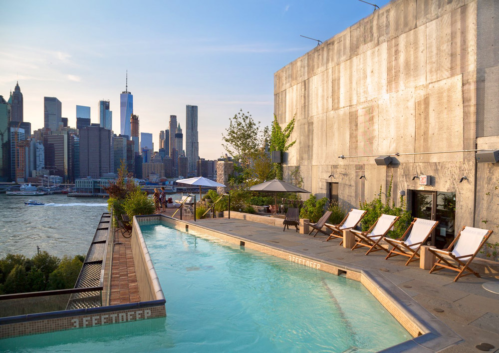 On the Waterfront: 1 Hotel Brooklyn Bridge